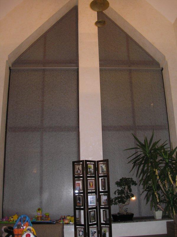 Рулонные шторы с автоматикой